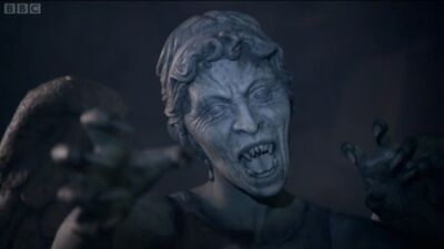 Weeping Angel Attacking