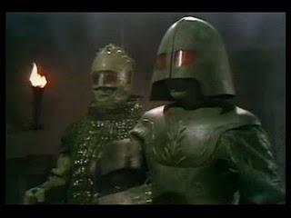 The Ice Warriors arrive on Peladon