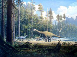 Dino Scene