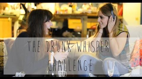 Drunk Whisper Challenge ft Hannah Witton!