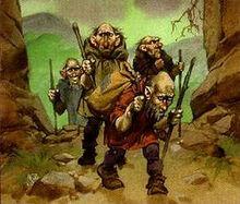 250px-Angus McBride - Petty dwarves