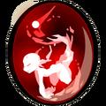 Large Red Crackling Fairywork