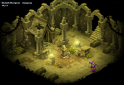 Skelett-Dungeon Ausgang
