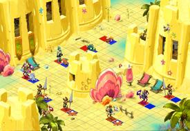 Versandeter Dungeon Raum 2