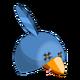 Blue Piwi Hat