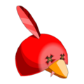 Red Piwi Hat
