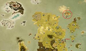 Weltkarte Saharach