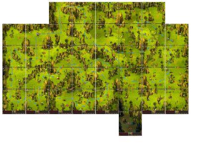 Koolich Dungeon Map