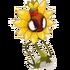 Ausgehungertes Sonnenblümchen