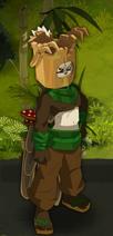 Bedrohlicher Holzfäller