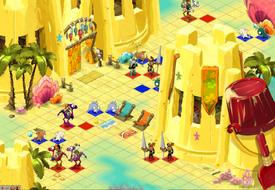 Versandeter Dungeon Raum 3