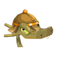 Crocodyl Chief Headgear