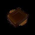 Square of 99% Pure Dark Chocolate