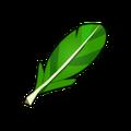 Green Piwi Feather