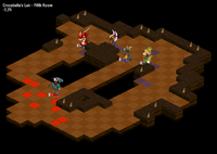 Dreggon Dungeon Fifth Room(Tactical)