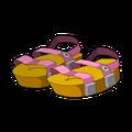 Pink Piwi Sandals