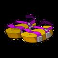 Purple Piwi Sandals