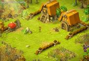 Dungeon der Felder Ausgang