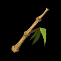 Bimbambusstängel
