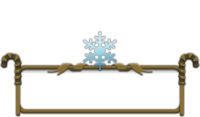 Ornament-Honourable Snowflake