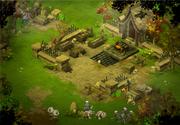 Skelett-Dungeon Zugang