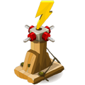 Bewitched Wood Lightning Thrower