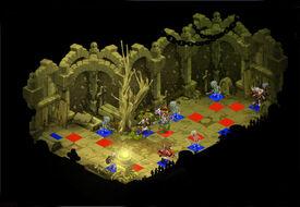 Skelett-Dungeon Raum 3