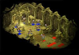 Skelett-Dungeon Raum 4