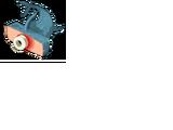 Gutted Sickle-Hammerhead Shark