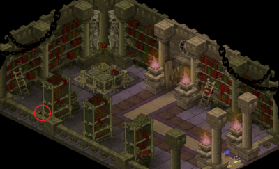 Tower of Brakmarian Orders Secret Room