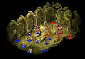 Skelett-Dungeon Raum 2