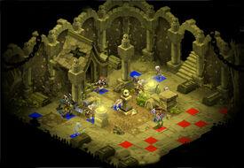 Skelett-Dungeon Raum 5
