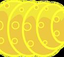 Ei der goldenen Larve