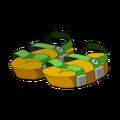 Green Piwi Sandals