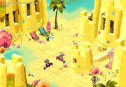 Versandeter Dungeon Ausgang