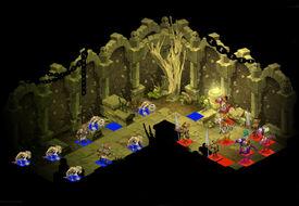 Skelett-Dungeon Raum 1
