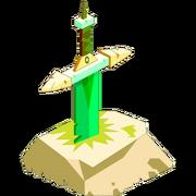 Crocobur's Sword