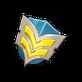 Militiaman Barry Flaye's Badge