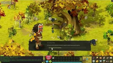 Dofus 2.36 - Bonta Quest 84 - Leng Plateau Escape the Arachnees and Leng's Men