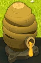 Bienenstock für Zibellenhonig