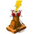 Walnut Lightning Thrower