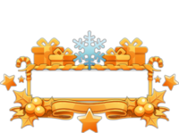 Ornament-Imposing Snowflake