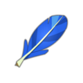 Blue Piwi Feather