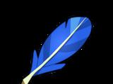 Blue Piwi Feather
