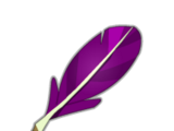 Purple Piwi Feather
