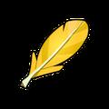 Yellow Piwi Feather
