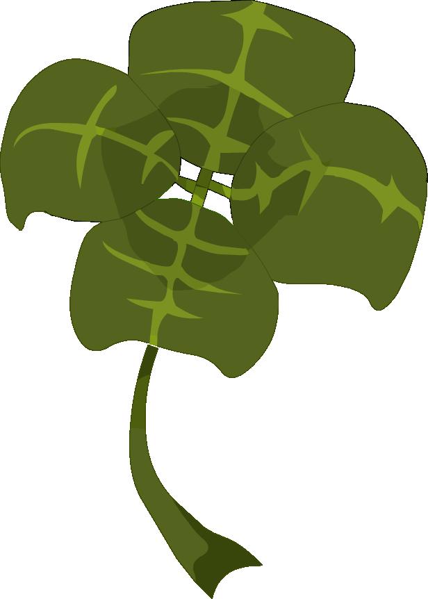 Vierblättriges Kleeblatt Finden