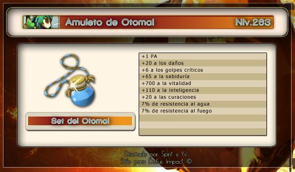 Amuleto de Otomai