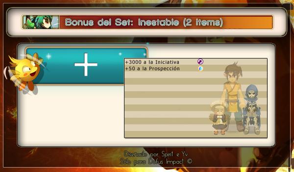 BonusSet inestable 2items