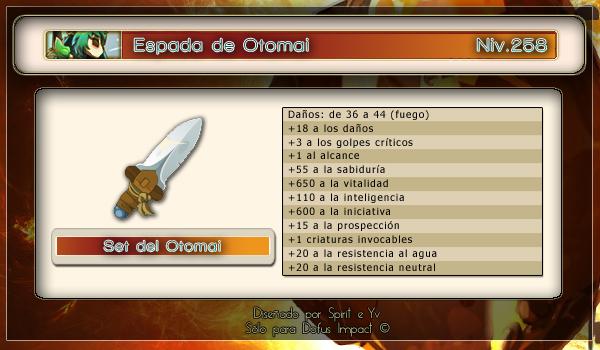 Espada de Otomai